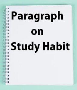 study-habits-paragraph